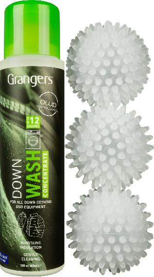 Grangers Down Wash Kit Insulated Clothing Cleaner, 300ml