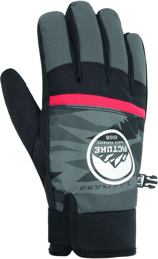 Picture Hudsons Ski/Snowboard Gloves, M Metric Black