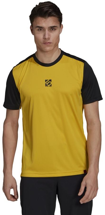 Adidas Five Ten Trail X Technical Short Sleeve T-shirt, M Yellow
