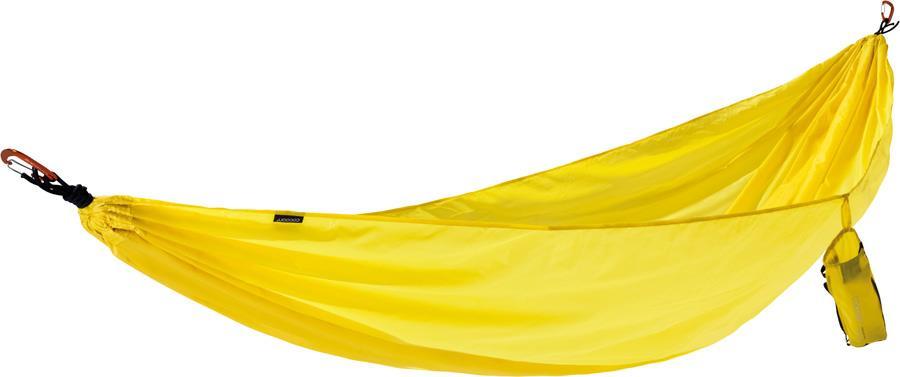 Cocoon Travel Hammock Backpacking Hammock Single Yellow