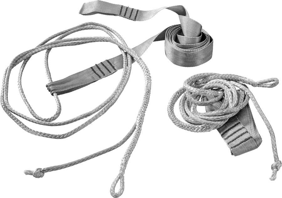 Cocoon Hammock Straps Ultralight Suspension System, Grey