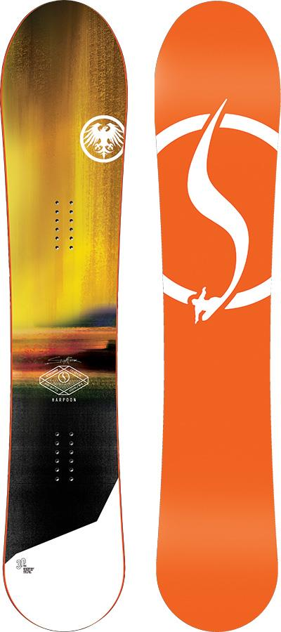 Never Summer Harpoon Hybrid Camber Snowboard, 152cm 2021