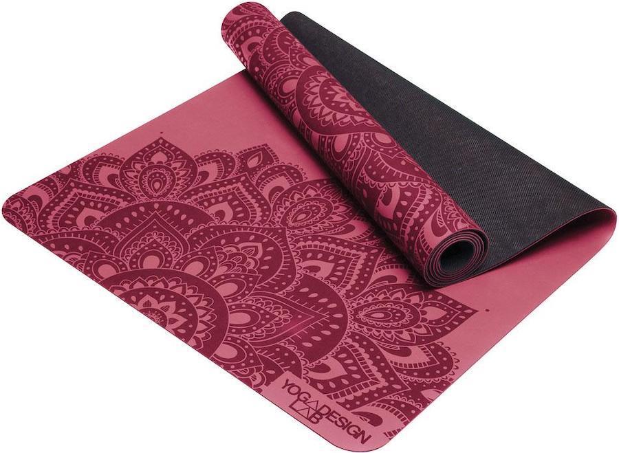 Yoga Design Lab Infinity Yoga/Pilates Mat, 5mm Mandala Rose