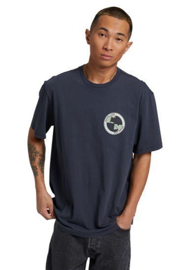 Analog Adult Unisex Halifax Short Sleeved T-Shirt, M India Ink