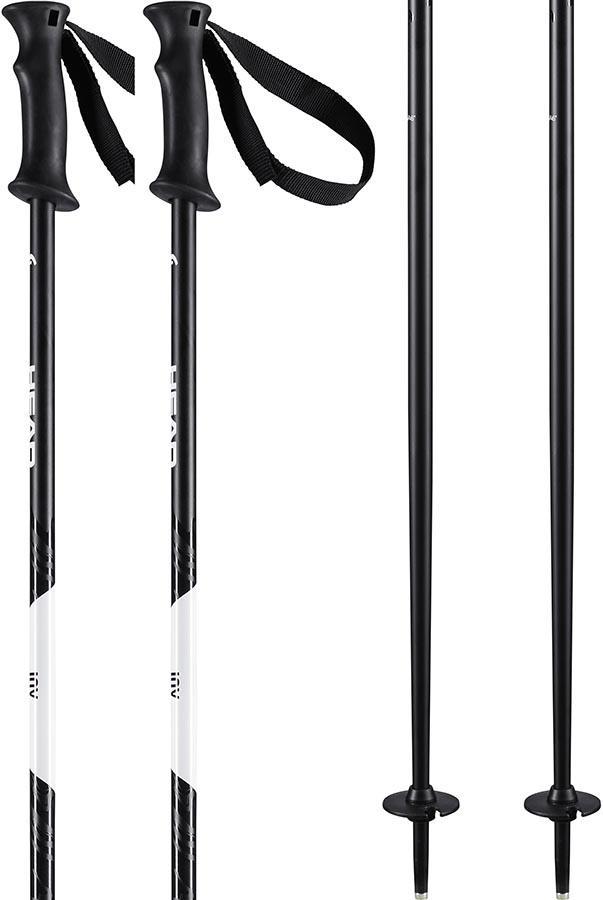 Head Joy Women's Ski Poles 120cm Black