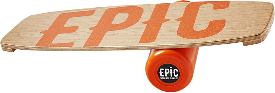 EPIC Balance Boards Wood Series Balance Board/Trainer, Juicy
