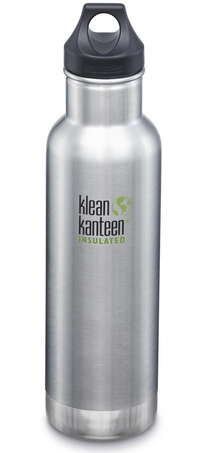 Klean Kanteen Insulated Classic Water Bottle 592ml Brushed
