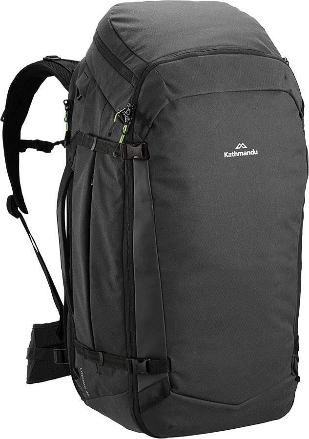 Kathmandu Litehaul Pack 48 Check-In Travel Bag 48L Black