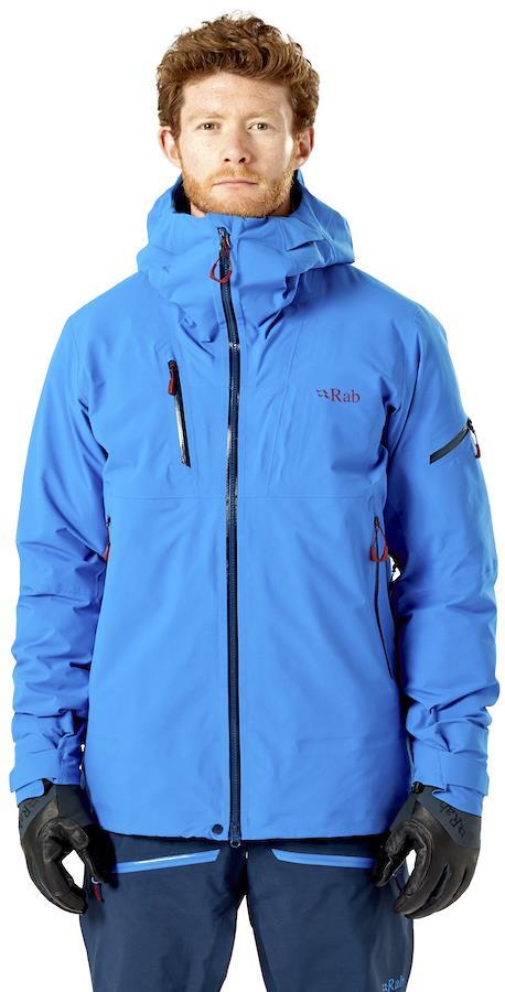 Rab Khroma Gore-Tex Ski/Snowboard Jacket, L Polar Blue