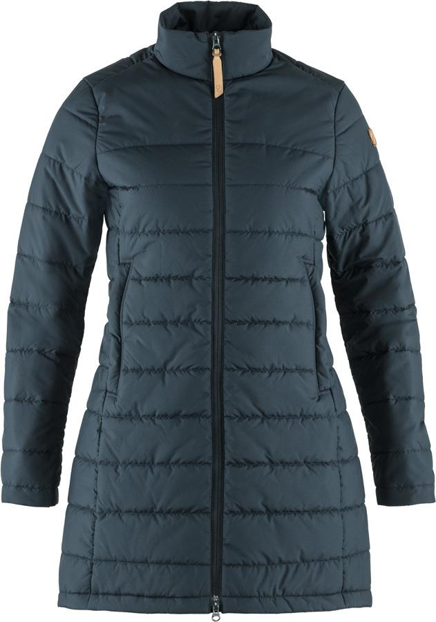 Fjallraven Kiruna Liner Parka Women's Padded Jacket, M Night Sky