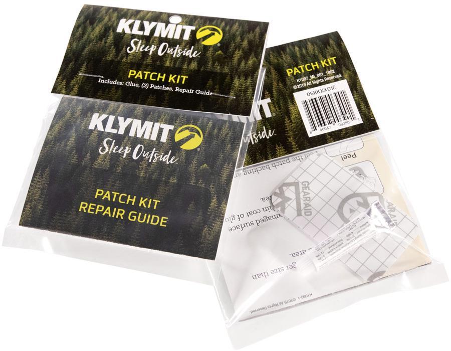 Klymit Patch Kit Sleeping Pad Repair Set