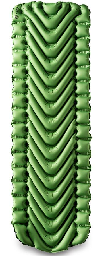 Klymit Static V Airbed Inflatable Camping Mattress, Regular Green
