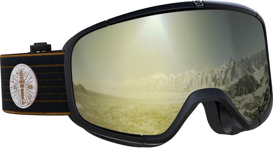 Salomon Four Seven Snowboard/Ski Goggles, M/L Cafe