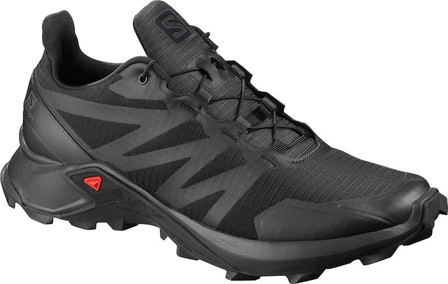 Salomon Supercross Men's Trail Running Shoe, UK 9 Black
