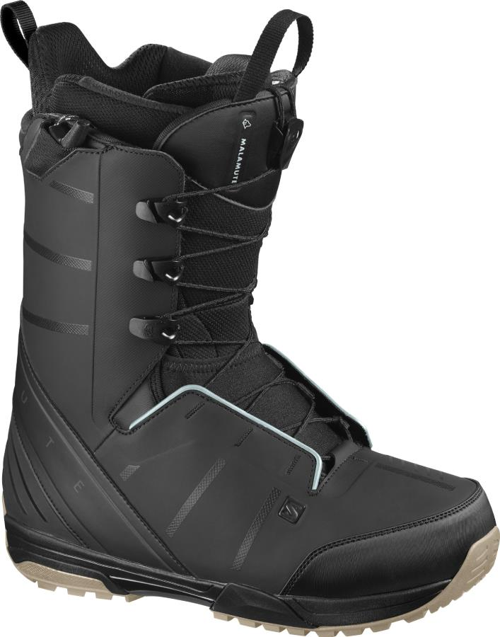Salomon Malamute Mens Snowboard Boot, UK 11.5 Black 2021