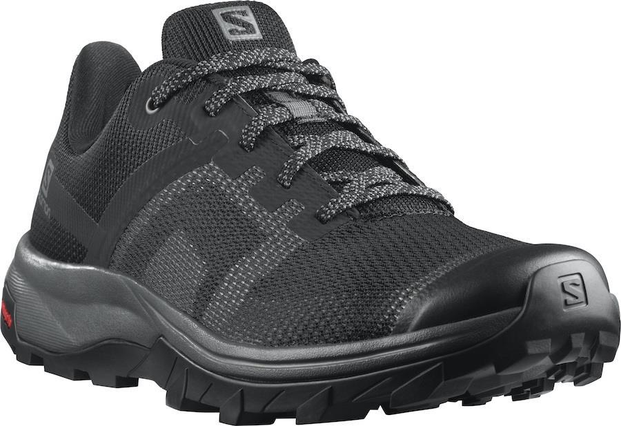 Salomon OUTline Prism Women's Hiking Shoes, UK 6 Black/Magnet