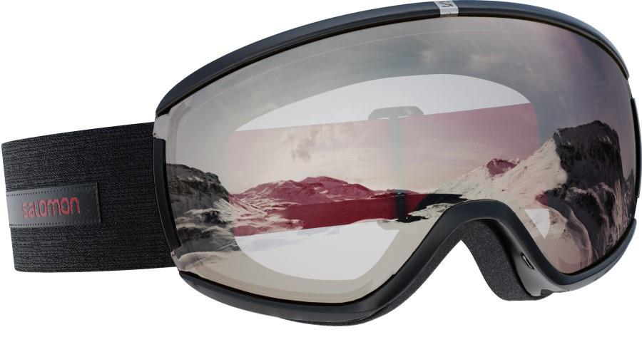 Salomon Ivy Uni. S White Women's Snowboard/Ski Goggles S/M Black Swan