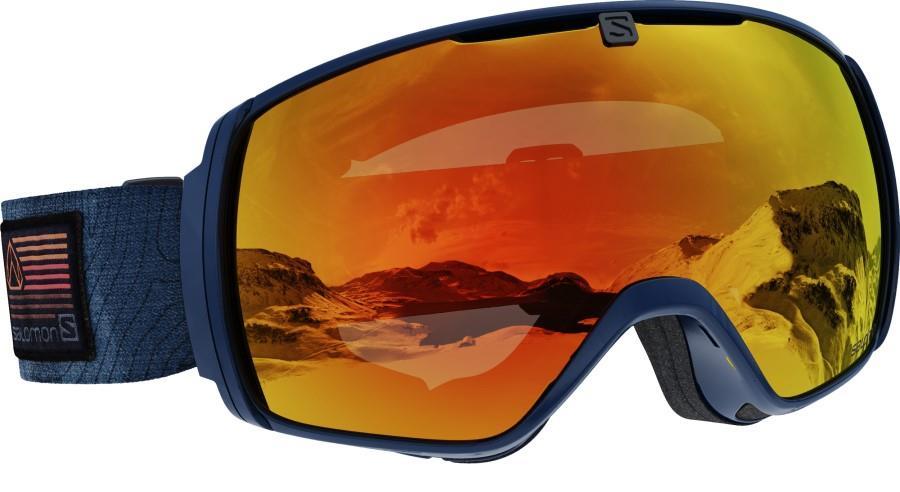 Salomon XT One Uni. Mid Red Snowboard/Ski Goggles, M/L Blue 2021