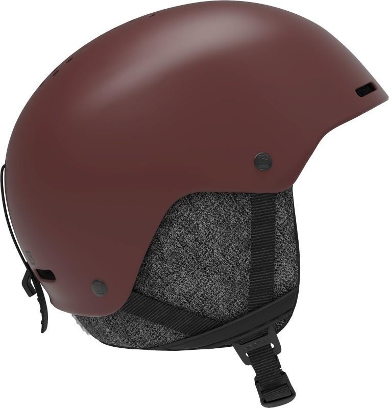 Salomon Brigade+ Snowboard/Ski Helmet, M Madder