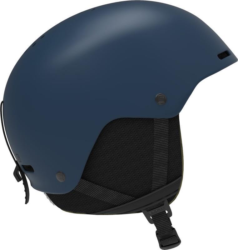 Salomon Brigade+ Snowboard/Ski Helmet, M Dark Denim