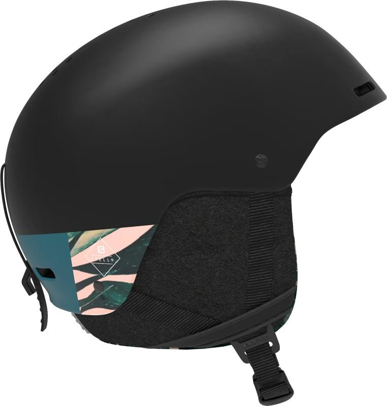 Salomon Spell+ Women's Snowboard/Ski Helmet, S Black