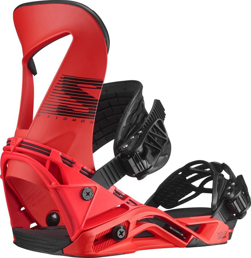 Salomon Hologram Snowboard Binding, M Red 2021