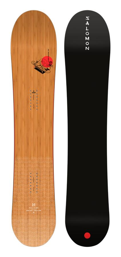 Salomon HPS Takaharu Nakai Hybrid Camber Snowboard, 155cm 2021