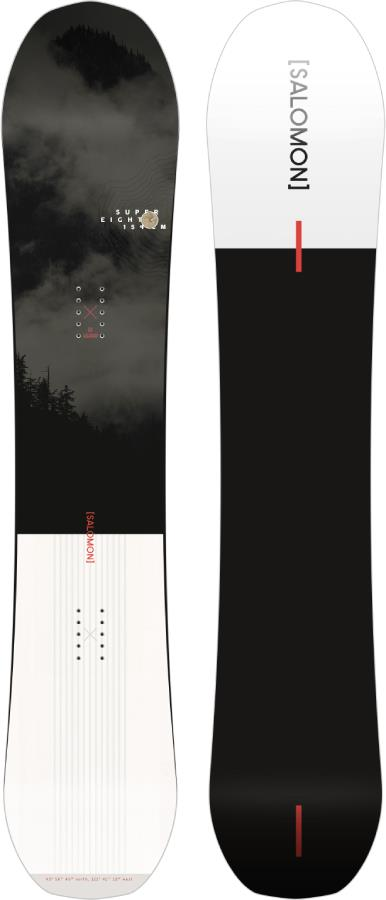Salomon Super 8 Hybrid Camber Snowboard, 160cm 2021