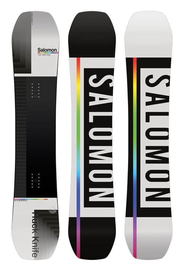 Salomon Huck Knife Hybrid Camber Snowboard, 155cm Wide 2021