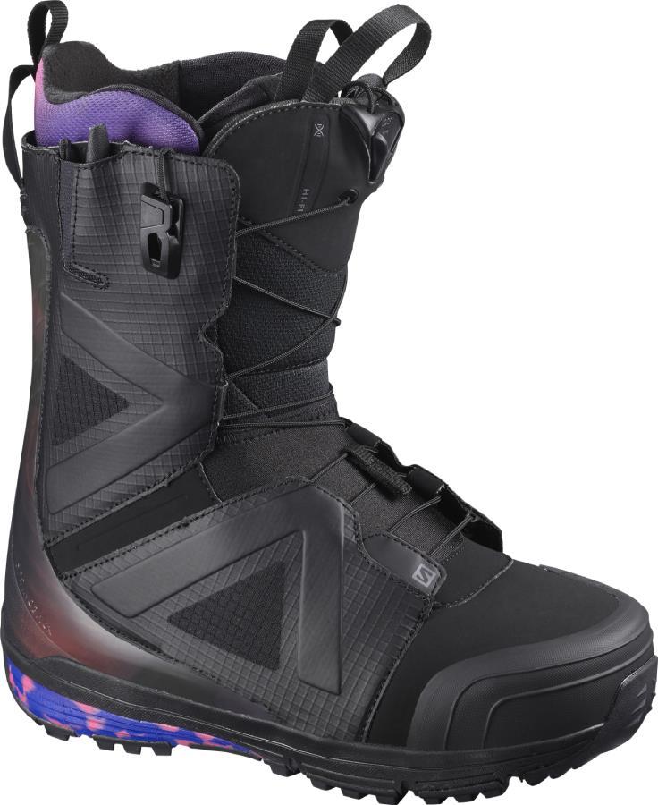 Salomon Hi Fi Wide Mens Snowboard Boot, UK 7 Black 2021