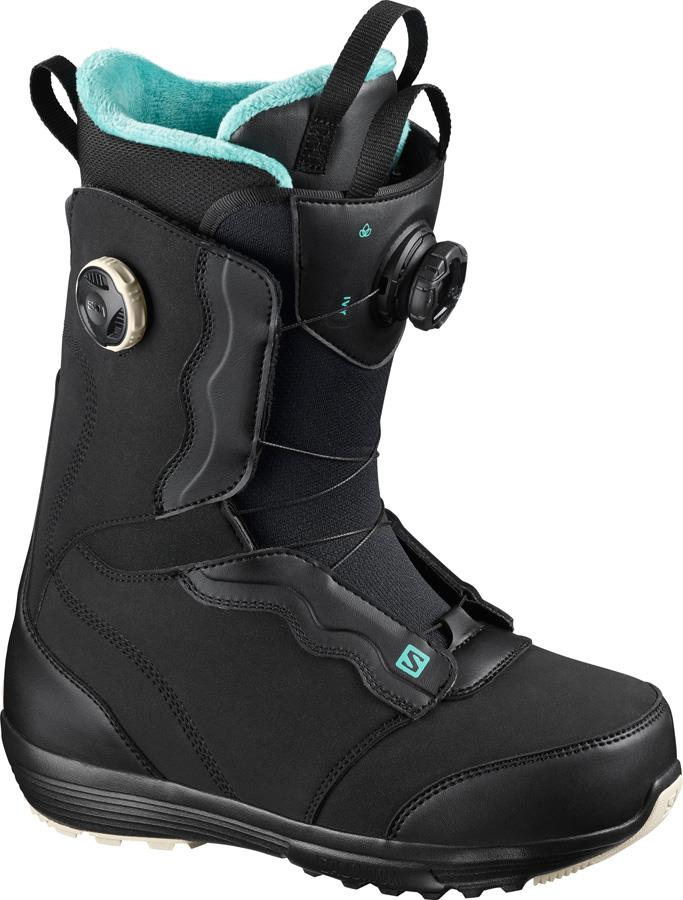 Salomon Ivy BOA SJ Women's Snowboard Boots, UK 4.5 Black 2021