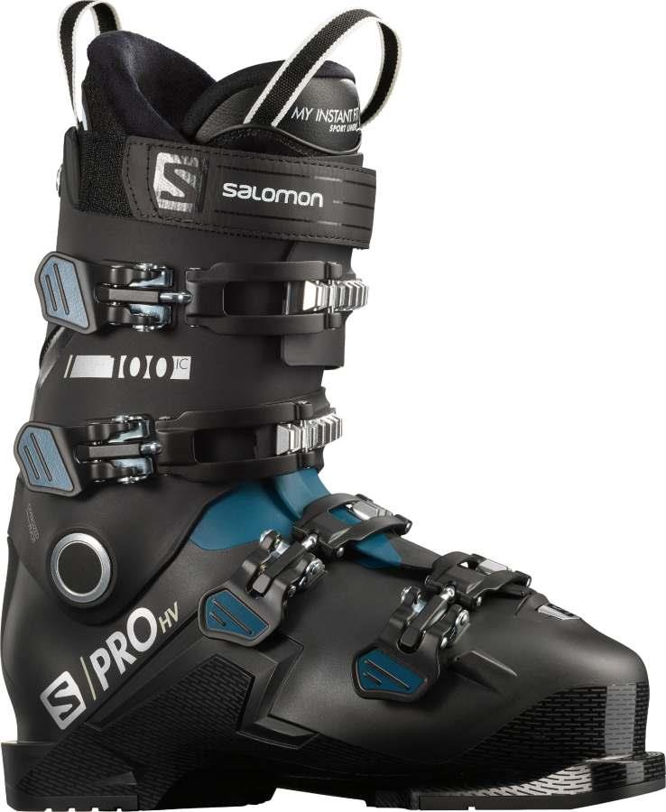 Salomon Adult Unisex S/Pro Hv 100 Ic Ski Boots, 26/26.5 Black/Maroccan Blue
