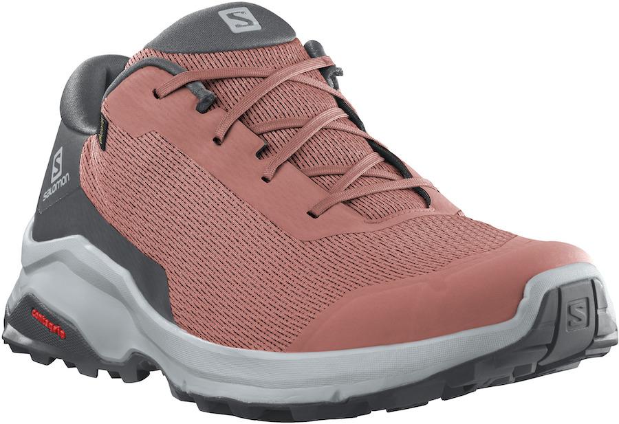 Salomon X Reveal Gore-Tex Women's Hiking Shoes, Uk 6.5 Brick Dust