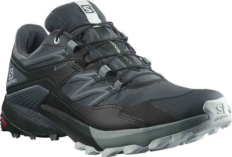 Salomon Wings Sky Gore-Tex Women's Running Shoes, UK 4 India Ink