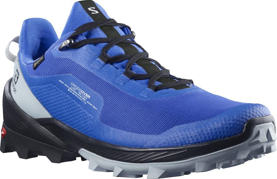 Salomon Cross Over GTX Gore-Tex Hiking Shoes, UK 7.5 Palace Blue