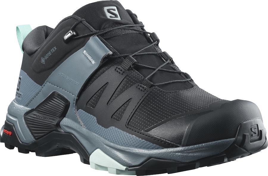 Salomon X ULTRA 4 Gore-Tex Women's Hiking Shoes, UK 5.5 Black/Stormy