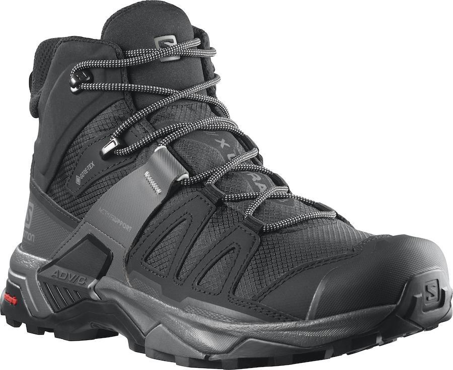 Salomon X ULTRA 4 Mid Gore-Tex Men's Hiking Boots UK 7.5 Black/Magnet