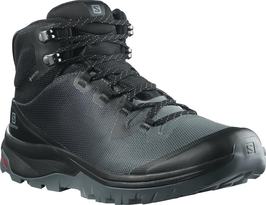 Salomon Vaya Mid Gore-Tex Women's Hiking Boots UK 4.5 Stormy Weather