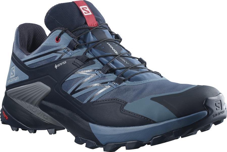Salomon Wings Sky Gore-Tex Trail Running Shoes, UK 7 Dark Denim