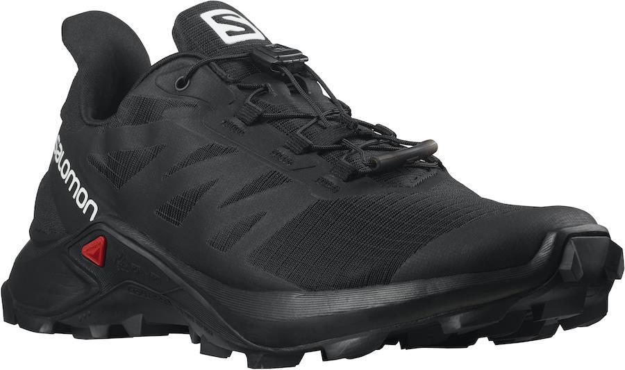 Salomon Supercross 3 Women's Trail Running Shoes, UK 5.5 Black/Black