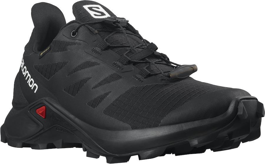 Salomon Supercross 3 Gore-Tex Women's Running Shoes, UK 8 Black