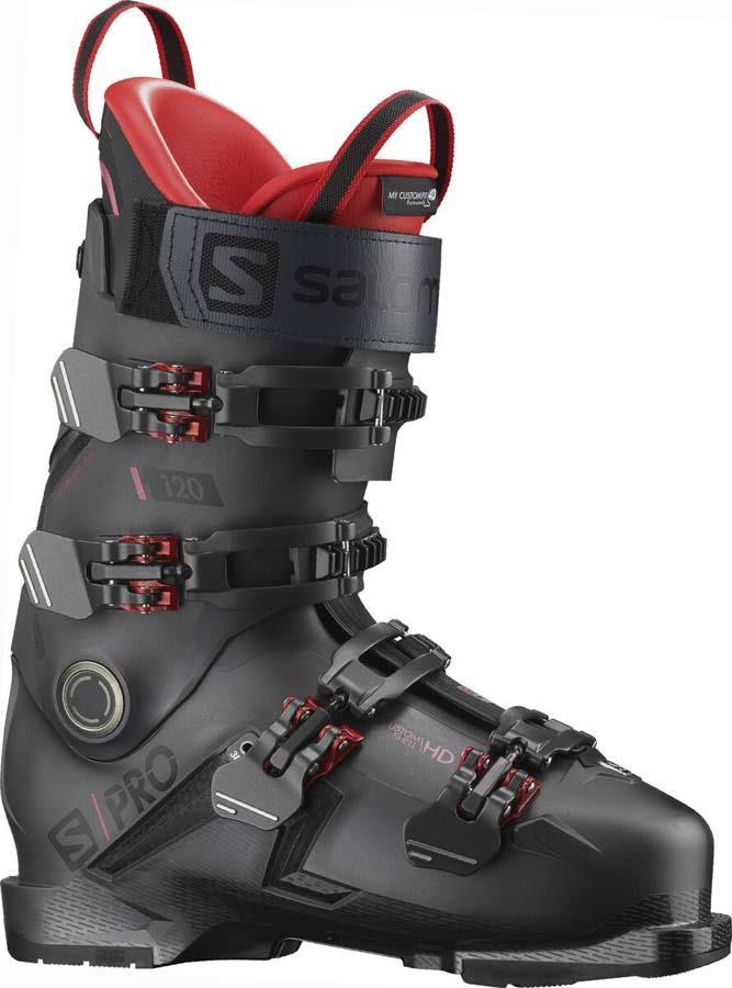 Salomon S/PRO 120 GW Ski Boots, 28/28.5 Belluga/Red 2022