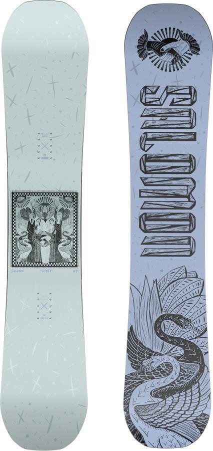 Salomon Gypsy Women's Hybrid Camber Snowboard, 143cm 2022