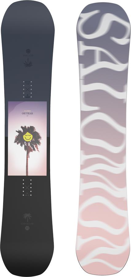 Salomon Oh Yeah Women's Hybrid Camber Snowboard, 147cm 2022