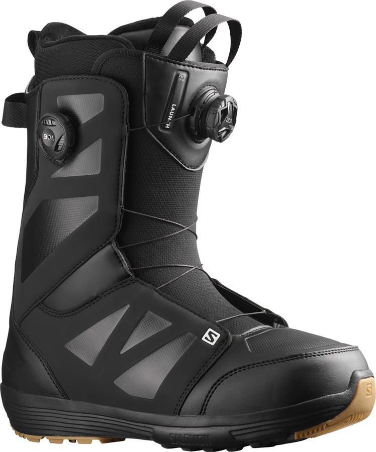 Salomon Launch BOA SJ Snowboard Boots, UK 11 Black 2022