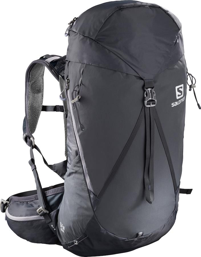Salomon Out Night 28+5 Women's Hiking Backpack, M/L Lilac Gray