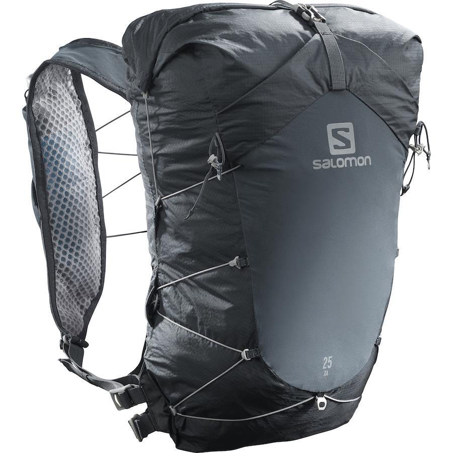 Salomon XA 25 Waterproof Hiking Backpack, 25L M/L Ebony/Black