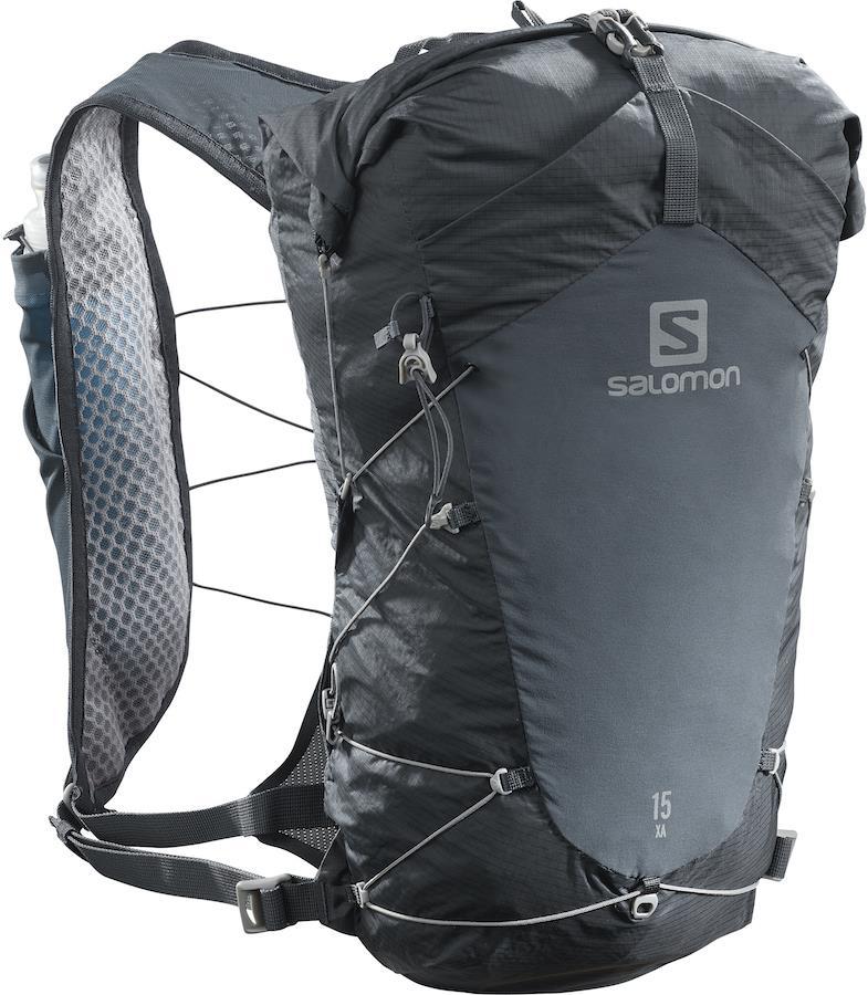 Salomon XA 15 Waterproof Hiking Backpack, 15L S/M Ebony/Black