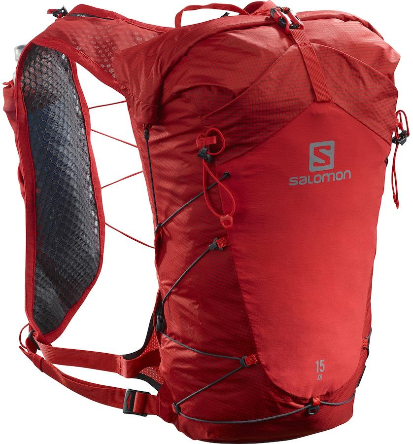 Salomon XA 15 Waterproof Hiking Backpack, 15L M/L Goji Berry/Ebony