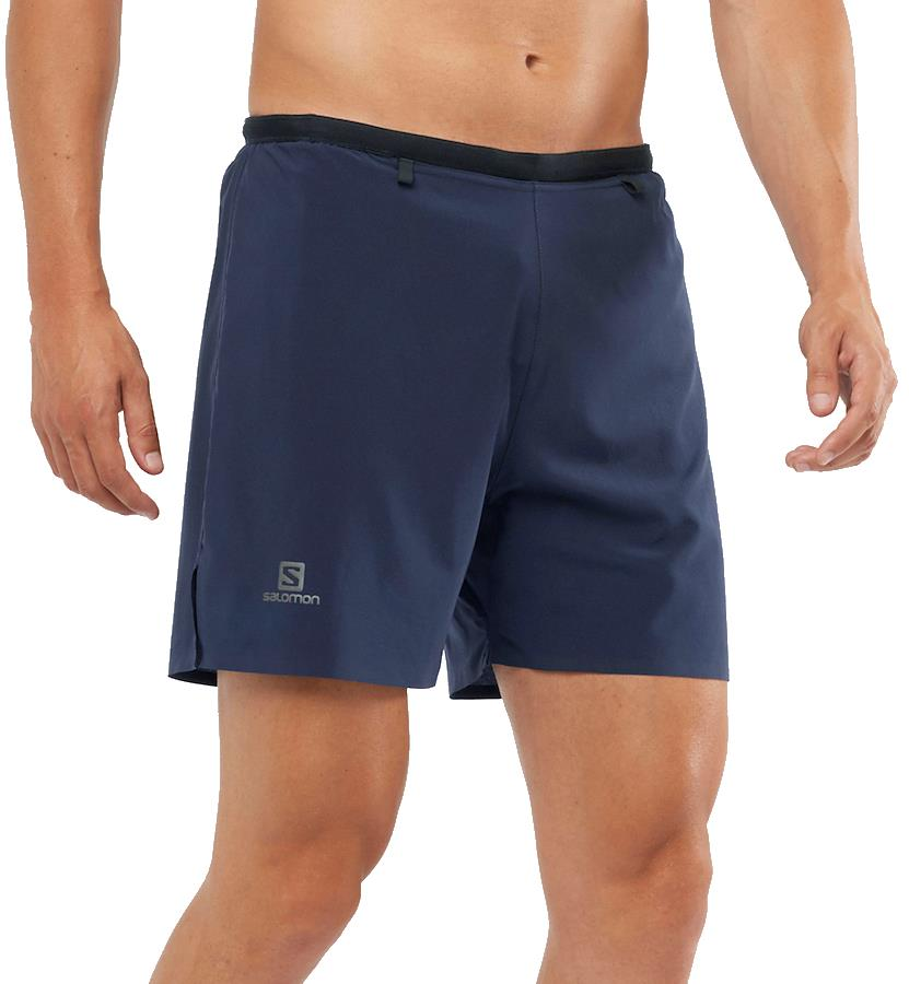 Salomon Sense 5'' Men's Sports/Running Shorts, S Night Sky